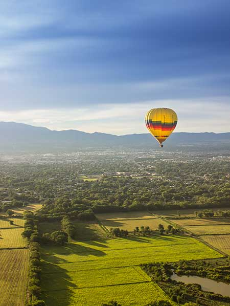 Albuquerque Hot Air Balloon Ride View